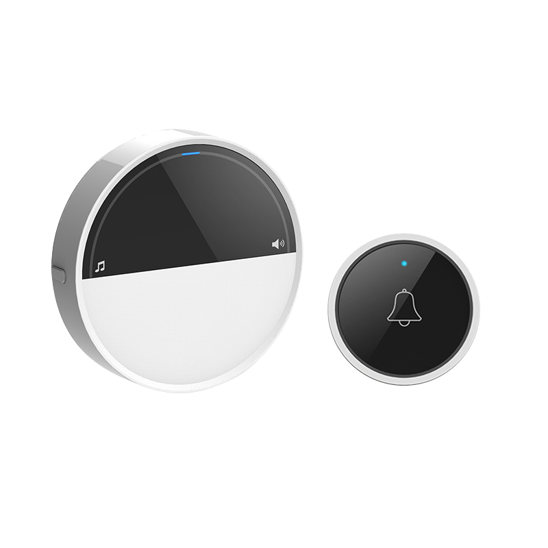 No Battery Need Wireless Self-Powered Doorbell Waterproof Smart Door Bell Cordless Ring Doorbells Remote Ac 110v-240v(Eu Plug)No Battery Need Wireless Self-Powered Doorbell Waterproof Smart Door Bell Cordless Ring Doorbells Remote Ac 110v-240v(Eu Plug)