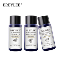 Breylee 3pcs Hair Growth Essential Oil Fast Powerful Products Care Prevent Baldness Anti-hair Loss Serum Increase