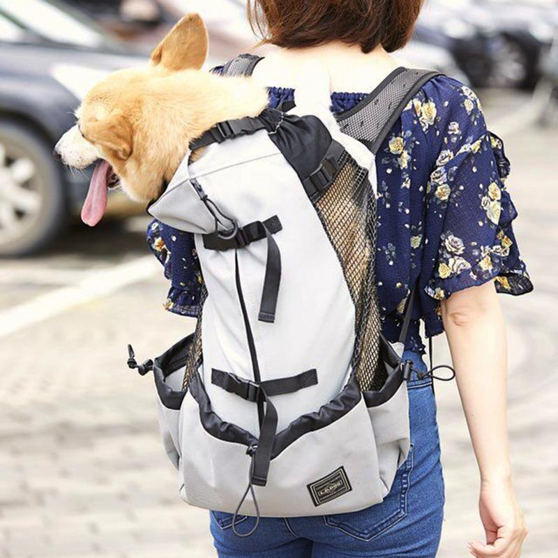 Pet Backpack Traveler Backpack Dog Outcrop Bag Ventilated Breathable Washable Bicycle Outdoor Shopping Backpack Pet CarrierPet Backpack Traveler Backpack Dog Outcrop Bag Ventilated Breathable Washable Bicycle Outdoor Shopping Backpack Pet Carrier