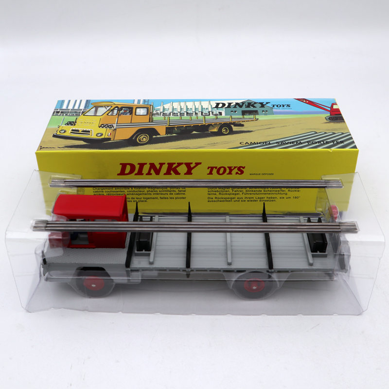Atlas 1/43 Dinky Toys 885 CAMION SAVIEM S7 PORTE-FER Ring Iron Diecast Models Limited Edition Collection