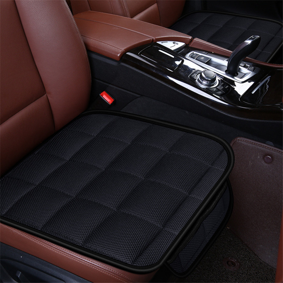 5 Seat 3D Car Seat Cushion Bamboo Charcoal Breathable Front Back Rear Seat Cover Pad For All Car Chair Pad Car Styling