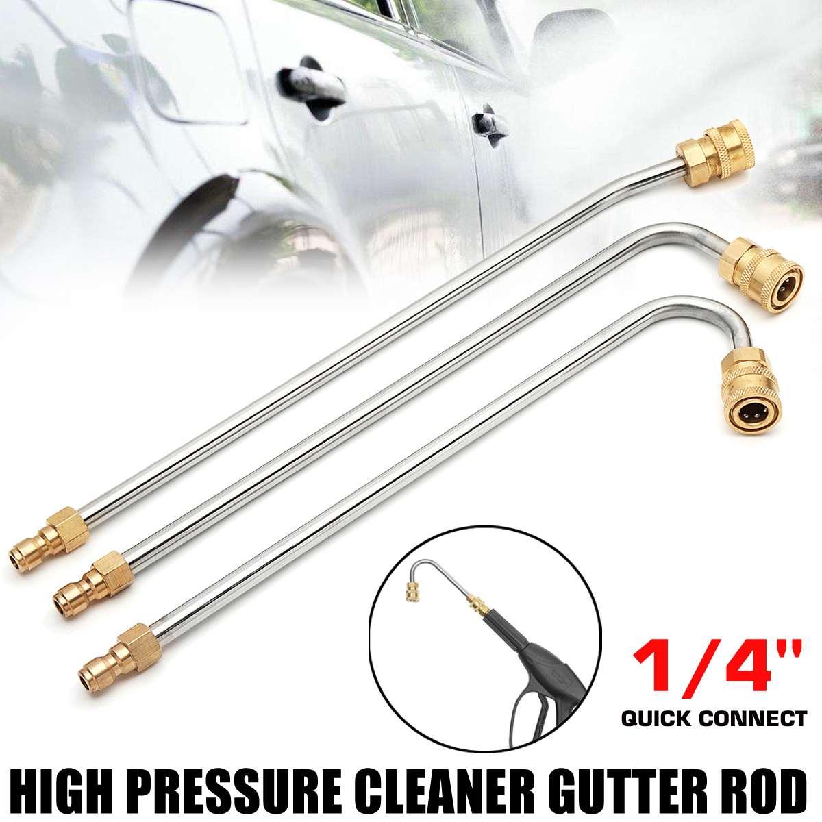 U Shape 30 90 Degree Pressure Washer Gutter Rod Cleaner