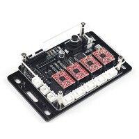EleksMaker IVAxis v5.3 New 4 axis Stepper Motor Driver Laser Controller Board DIY CNC Engraver DC 12V
