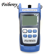 70 ~ 10  50 26 dBm Fiber Optic Power Meter Fiber Optical Power Meter FTTH Optical Cable Testing Tool OPM Optical Power Meter