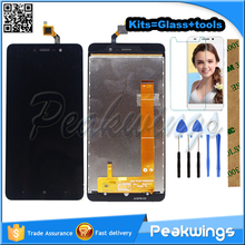 цена на 5.5 Original Tested Touch Screen For Bluboo Dual Touch Panel Digitizer Screen Glass Panel Sensor+3M Sticker+Tools+Track