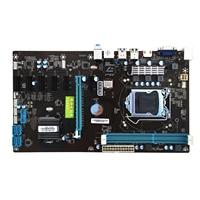 Jia Huayu B85 BTC new Bitcoin Mining Motherboard LGA 1150 DDR3 7 card PCI E USB3.0 UB2.0 Mainboard