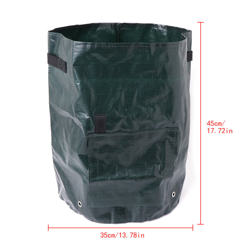 Image 4 - PE Flower Pots Potato Planting Container Vertical Vegetable Garden Pots For Seedlings Grow Seedling Bags Greenhouse For Plants-in Grow Bags from Home & Garden