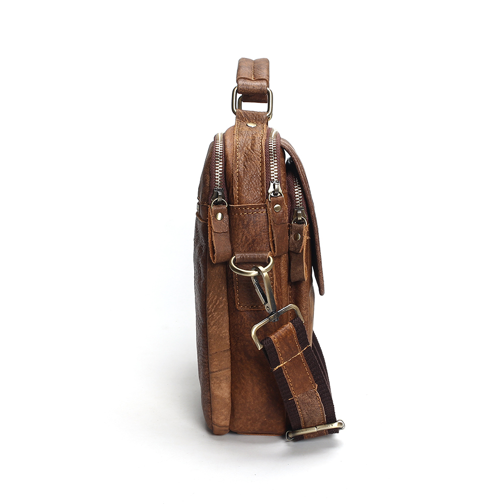 389b9f615cc 2019 New Genuine Leather Shoulder Bags Fashion Men Messenger Bag Small Ipad  Male Tote Vintage New Crossbody Bags Men's Handbags on Aliexpress.com    Alibaba ...