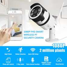 1080P 2MP WiFi Home Security IP Camera Motion Detection Night Vision Cloud TF Waterproof For Alexa Echos