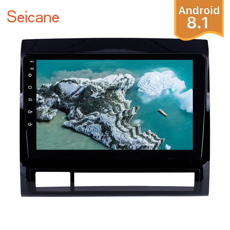 Seicane Android 8 1 GPS Navigation 9 inch Car Stereo for 2005 2013 TOYOTA TACOMA HILUX