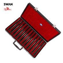 Kuğu SW24H 12T 24 delik 12 tuşları harmonik seti High End performans armonika hediye kutusunda profesyonel müzik aleti Harps