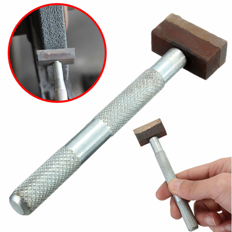 11.5 Cm Hand-held Sintered Diamond Grinding Disc Wheel Stone Dresser Tool Dressing Bench-Grinder For Metal Stone Dressing Tool