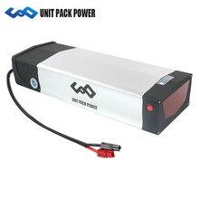 Электрический велосипед батарея 48 В 20Ah литиевая батарея для электровелосипеда 48 В 15AH задняя стойка батарея для bafang BBSHD 1000 Вт мотор