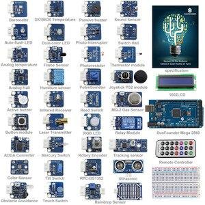 Image 1 - SunFounder 37 מודולים מגה 2560 חיישן ערכת V2.0 עבור Arduino UNO R3 Mega2560 Mega328 ננו