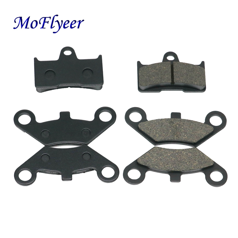 MoFlyeer ATV Front 4pcs Rear 2pcs Semi Metallic Brake Pad for CF Moto CF500 500CC CF