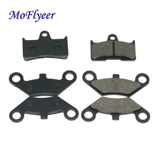 MoFlyeer ATV Front 4pcs+Rear 2pcs Semi Metallic Brake Pad for CF Moto CF500 500CC 600 600CC X5 X6 X8 U5 UTV
