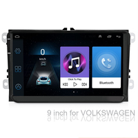 9Auto radio Android 8.1 Touch Screen GPS Navigation Car Stereo for VW Golf Polo Skoda(See the details page for specific model)