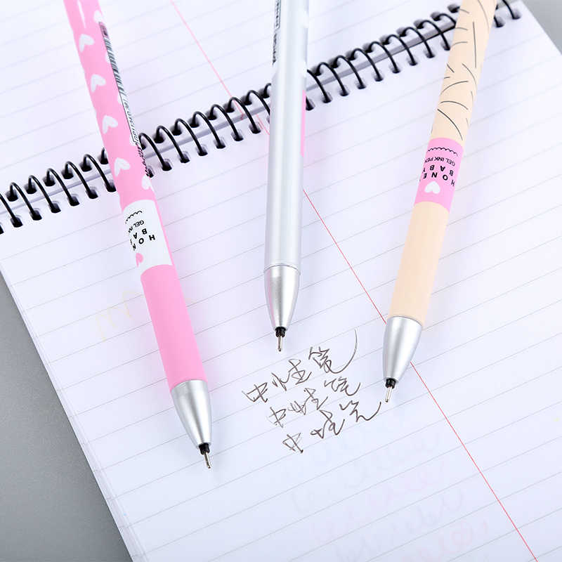 1 stücke 0,38mm Löschbaren Gel Stift, nette stift für zurück zu schule Kawaii büro liefert magische tinte Lustige stifte