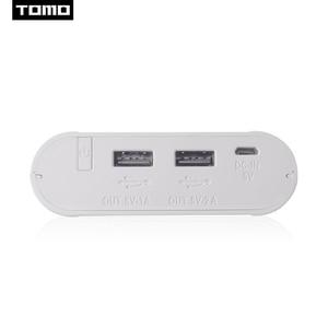 Image 4 - Зарядное устройство TOMO M4 4x18650 Li Ion USB, интеллектуальное зарядное устройство, портативный ЖК дисплей, чехол для мобильного телефона, аккумулятор, двойной выход, интеллектуальная зарядка