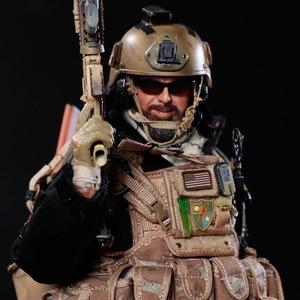 Image 4 - NFSTRIKE 30cm 1/6 מטלטלין צוות חקירת איור ריינג ר צבאי חייל דגם באיכות גבוהה פעולה איור חייל דגם