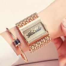 GLE&VDO Women Wristwatches Metal Strap Quartz Analog Casual Watch Simple Exquisite Watch (without chain) ybotti number analog quartz watch