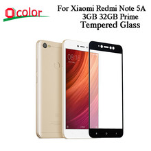 Ocolor Voor Xiaomi Redmi Note 5A 3 GB 32 GB Prime Gehard Glas Screen Protector Film Vervanging Voor Xiaomi Redmi note 5A Prime(China)
