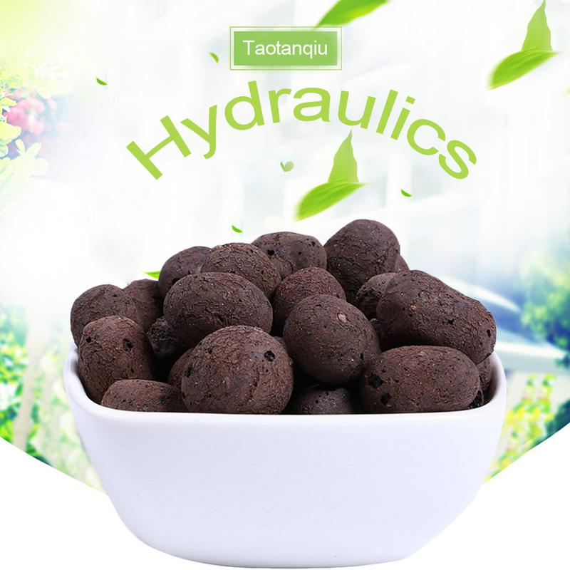 Carbon-Ball-Nutrient Expanded Clay Pebbles-Plant Planting Hydroponics Organic Aquaculture