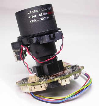 "H.265 H.264 motorized 2.8-12mm Zoom & Auto Focus LENs 1/2.9\"" SONY Exmor IMX323 CMOS Hi3516C V300 CCTV IP camera PCB board module"