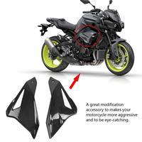 2 шт. мотоциклетная рамка обтекатель панель Защитная крышка для Yamaha MT 10/FZ 10 2016 2017 2018 черные аксессуары для мотоциклов углеродное волокно
