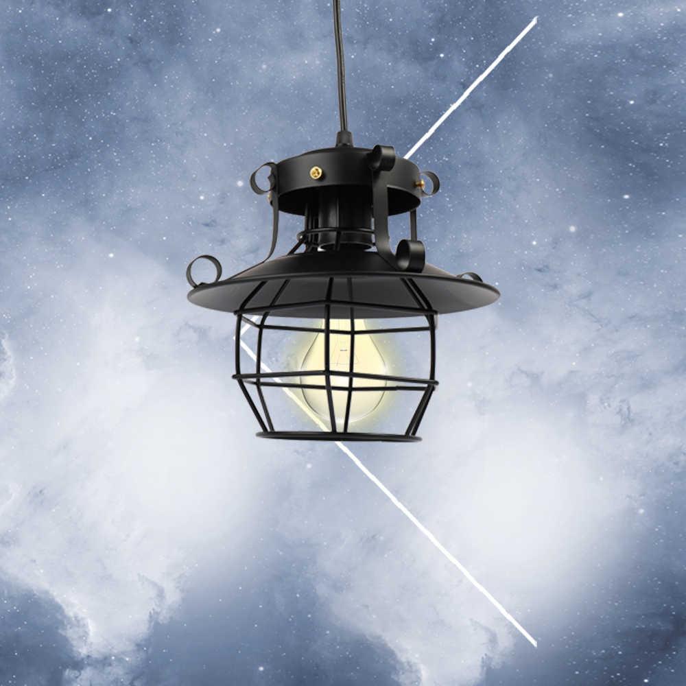 Новый Стекло Светильник Бра 220 В черный гладить лет Мода ретро Винтаж Стиль промышленных антикварная люстра