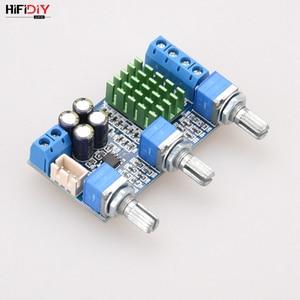 Image 3 - HIFIDIY 라이브 A2.0 3P TPA3116 2.0 앰프 보드 자동차 디지털 오디오 앰프 50W * 2 TPA3116 홈 고음 저음 스피커 조정