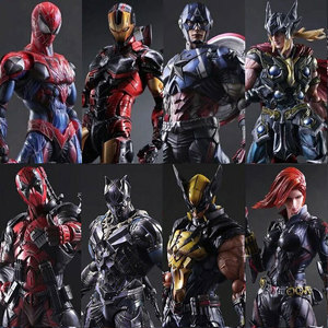 Marvel Pa Change Steel Chivalrous Do Spider Chivalrous Union Мстителей 3 Модель Венома для отцовства игрушки могут иногда перемещаться