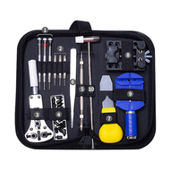 31pcs Professional Watchmaker Tools Watch Case Holder Tools Set Clock Repair Tool Kit Wrist Watch Opener Link Pin Remover Set