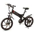 Samebike 20 ZANCHE 10.0Ah 48 V Batteria Intelligente Pieghevole Elettrica Esterna 350 W Motor Bike Ciclomotore Bicicletta Con LED Anteriore luce