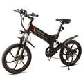 Samebike 20 ZANCHE 10.0Ah 48 V Batterij Smart Opvouwbare Elektrische Outdoor 350 W Motor Fiets Bromfiets Fiets Met LED Voor licht