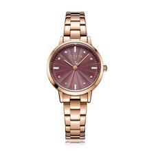 Nieuwe Vrouwen Horloge Japan Quartz Vrouw Uur Fijne Mode Classic Crystal Geboortesteen Armband Meisje Kerstcadeau Julius Doos