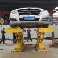 Высокое качество 3500 кг прочный гидравлический большой ножничный автомобильный подъемник для продажи автомобильный Лифт