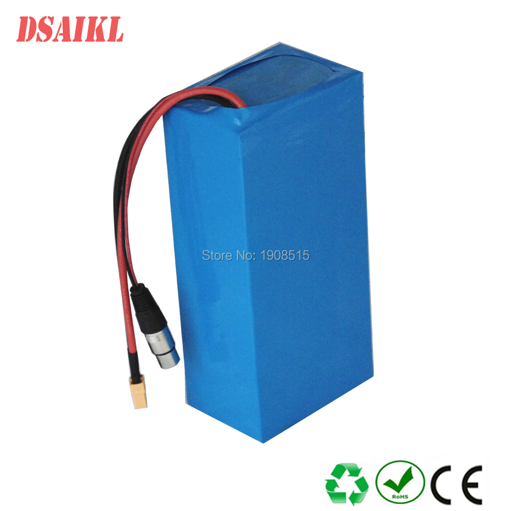 Купить с кэшбэком 1500W Lithium ion Battery Pack 60V 20Ah Electric Scooter Battery Pack with 30A BMS and 67.2V 3A Charger