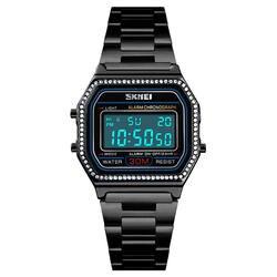 SKMEi модные женские часы цифровые часы 30 м водостойкий сплав Еженедельный хронограф часы 1474