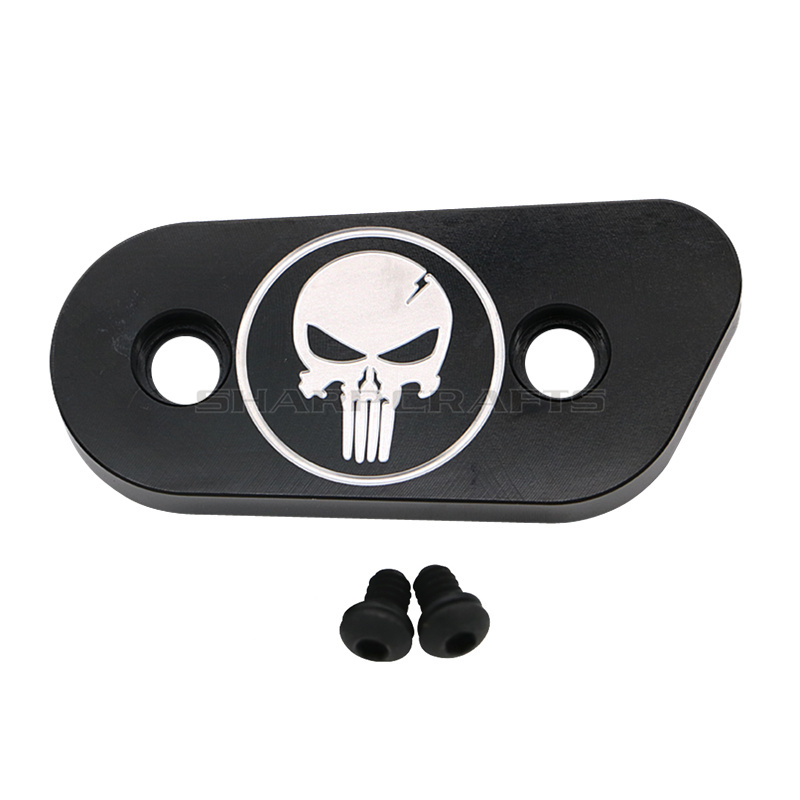 Image 4 - Motorcycle Skull Derby Timer Clutch Timing Covers Master Cylinder Chain Inspection Cover For Harley Sportster Iron XL883 XL1200-in Covers & Ornamental Mouldings from Automobiles & Motorcycles