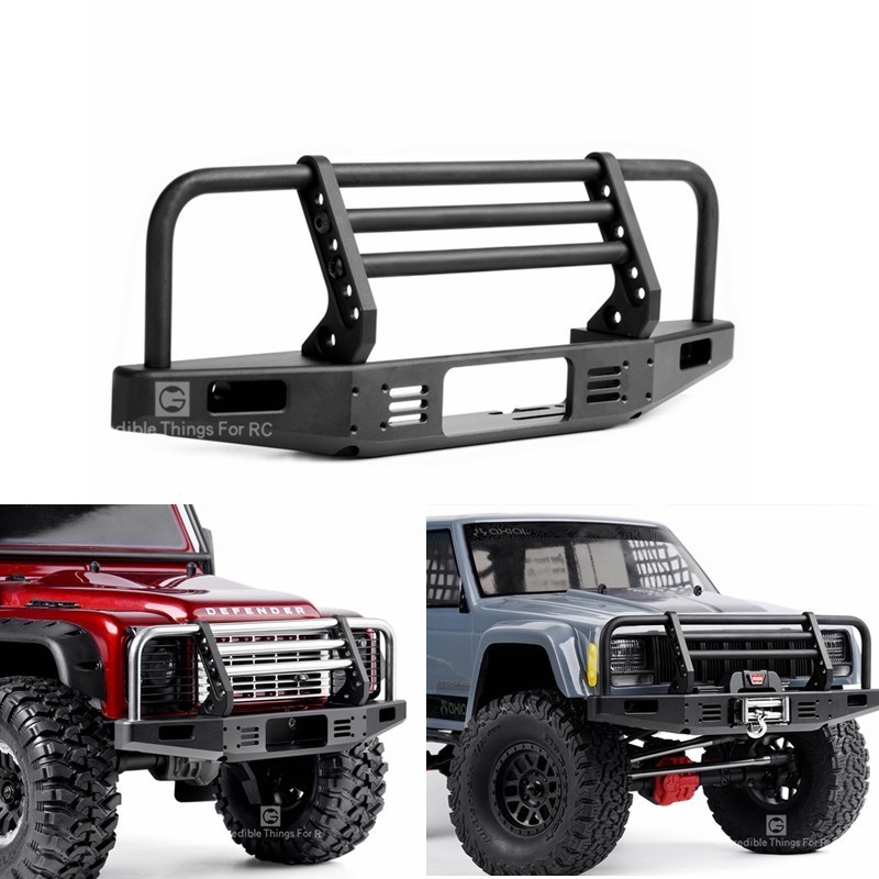 Universal Metal Front Anti collision Bumper For 1 10 RC Crawler Car TRX4 Defender Bronco Axial