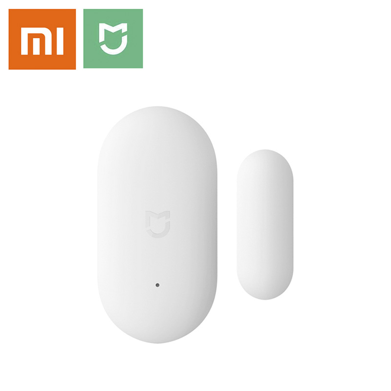 <font><b>Xiaomi</b></font> <font><b>Aqara</b></font> <font><b>Door</b></font> <font><b>Window</b></font> <font><b>Sensor</b></font> Mini Zigbee Wireless Connection Smart Home Security Equipment Work With Android IOS App Control image