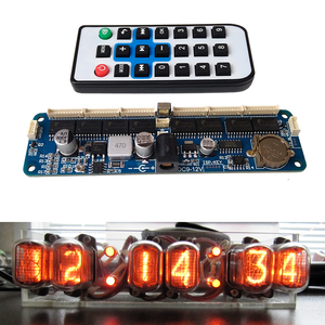 Image 1 - DYKB 6 bit Glow Clock Motherboard Core Board Control Panel remote control universal in12 in14 in18 qs30 1 Controller dc 9V 12V