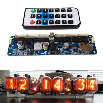 DYKB 6-bit Glow Clock Motherboard Core Board Control Panel remote control universal in12 in14 in18 qs30-1 Controller dc 9V-12V - DISCOUNT ITEM  10% OFF All Category