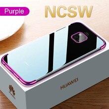 Luxury phone Case For Huawei Mate 20 10 P20 Lite P30 Pro Nova 3 3i P Smart Plating Soft TPU Clear Transparent Case Coque