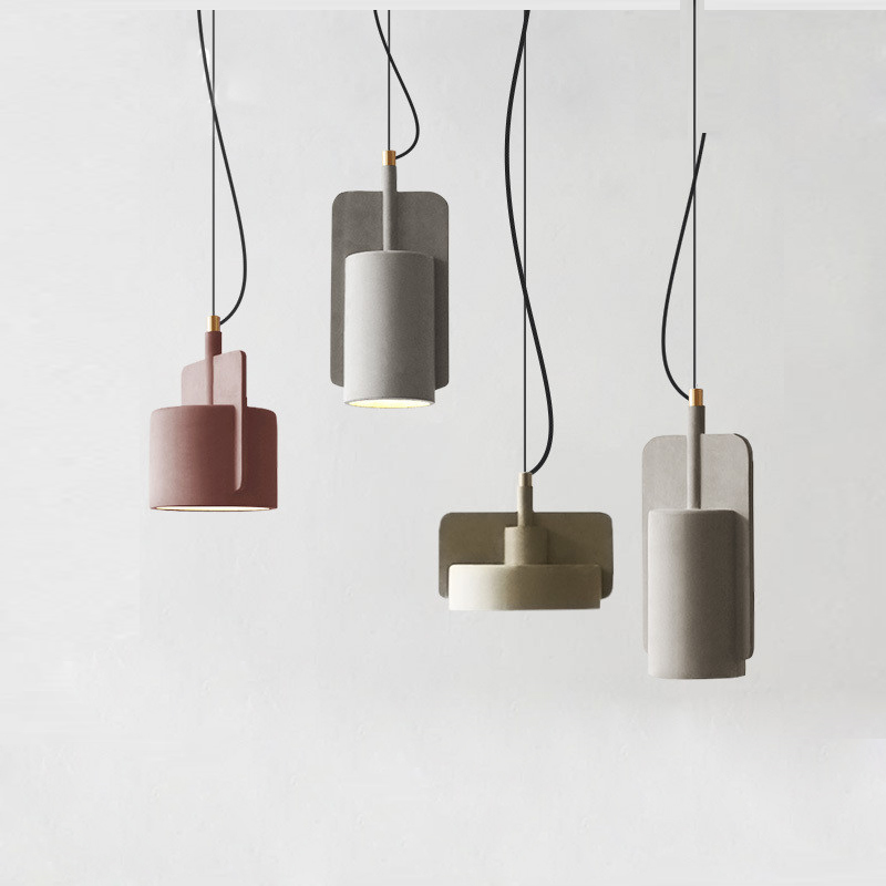 Nordic Suspension Light Pendant Lamp Led Cement Kitchen Lighting Fixtures Hang Lustre Avize Luminaire E27 110v 220v Nordic Suspension Light Pendant Lamp Led Cement Kitchen Lighting Fixtures Hang Lustre Avize Luminaire E27 110v 220v