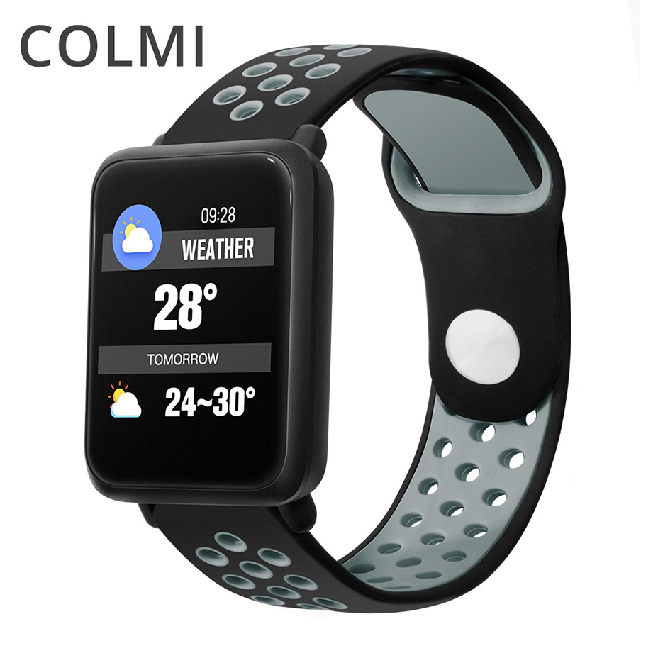 COLMI Smart watch IP68 waterproof Activity Fitness tracker Heart rate monitor Sports PK Men women smartwatch CF58COLMI Smart watch IP68 waterproof Activity Fitness tracker Heart rate monitor Sports PK Men women smartwatch CF58