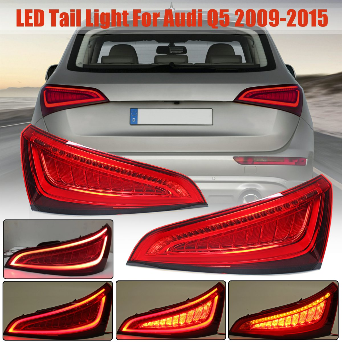 Car Tail Lights >> Buying Guide For Audi Q5 2009 2015 Led Tail Lamp Car Styling