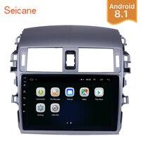 Seicane Android 8,1 9 головное устройство gps автомобильный радиоприёмник для 2007 2008 2009 2010 Toyota Corolla Старый 2Din сенсорный мультимедийный плеер