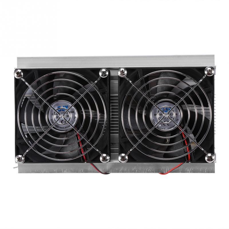 デュアルコア半導体冷凍熱電ペルチェ冷却システム家電用ホット  グループ上の 家電製品 からの エアコン パーツ の中 1